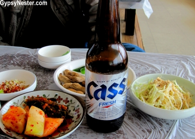 Cass Beer in Busan, South Korea
