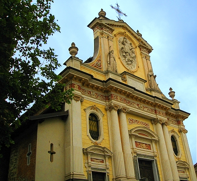The Chiesa di San Lorenzo, or Church of St. Lawrence