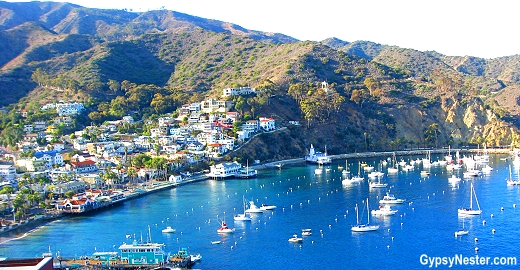 Avalon in Beautiful Catalina Island, California