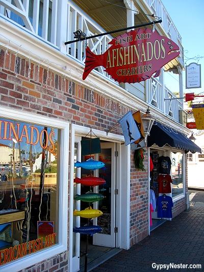 Souvenir shop on Catalina Island, California
