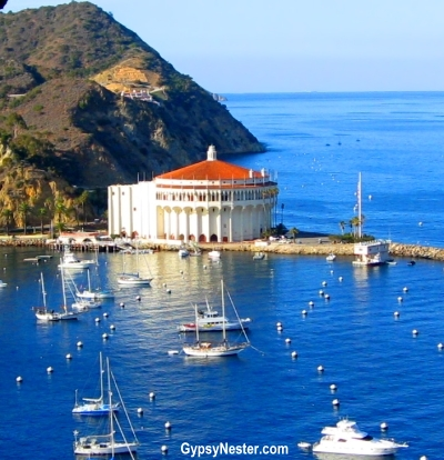 The Casino in Avalon on Catalina Island, California