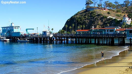 The Green Pleasure Pier in Avalon, Catalina Island, California