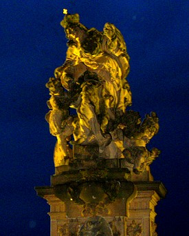 Statue on Charles Bridge, Prague