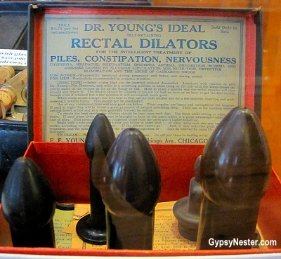 Dr. Young's Ideal Rectal Dilators for piles, constipation, nervousness