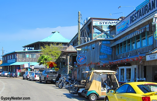 Dock Street, Cedar Key, Florida