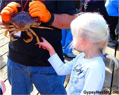 Crabfest in Port Angeles, Washington