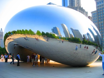 "Cloud Gate aka ""The Bean"""
