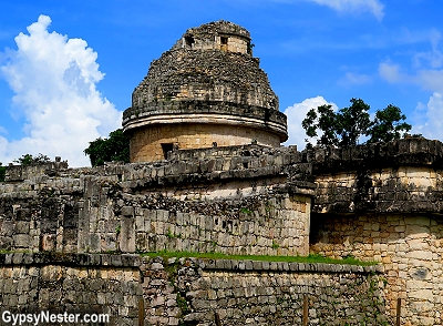 El Caracol, the observatory, at Chichen Itza in Mexico
