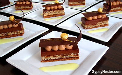 Chocolate Hazelnut Bar with Citrus Cream #princesschocolate