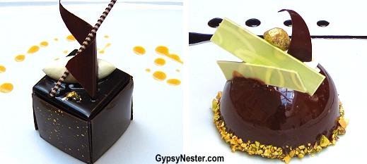 Signature chocolate desserts on Princess Cruises #princesschocolate
