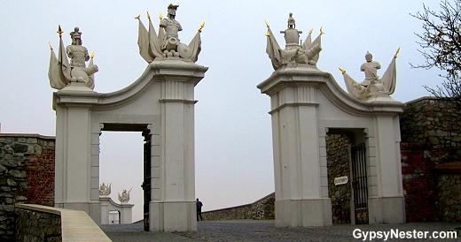 Bratislava Castle Gate, Slovakia