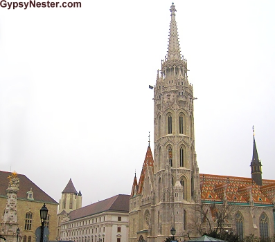 Within the bastion Matthias Church serves as the second most important church in Budapest