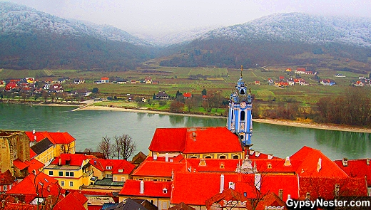 Durnstein, Austria on the Danube with Viking Cruise Lines