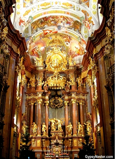 The Benedictine Church at Melk Abbey, Austria