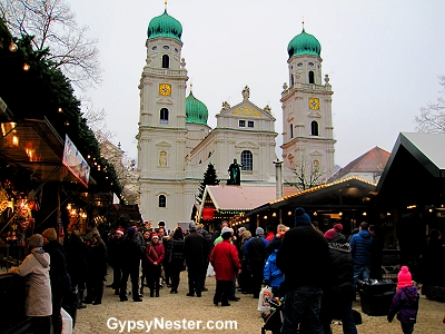 The Passau, Germany Christmas Markiet