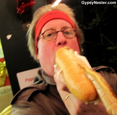 The half meter wurst selfie of Passau Germany