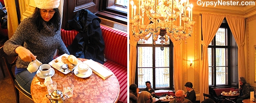 Exploring the coffeehouse culture in Vienna, Austria