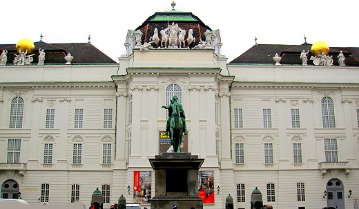 The city of Vienna is completely dominated by the heritage of The Hapsburgs.