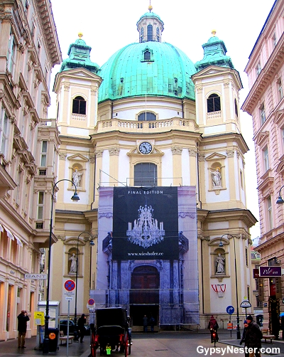 St. Peter's Cathedral in Vienna, Austria