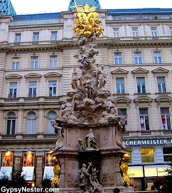 Leopold I, fled the city when plague hit in 1679, but vowed to return and erect a mercy column if the epidemic would end. The Pestsäule he commissioned is now one of the main monuments in the center of Vienna