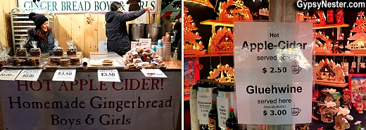 The Union Square Holiday Market in New York City