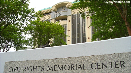 The Civil Rights Memorial Center, Montgomery, Alabama
