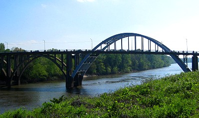 The Edmund Pettus Bridge, Selma Alabama