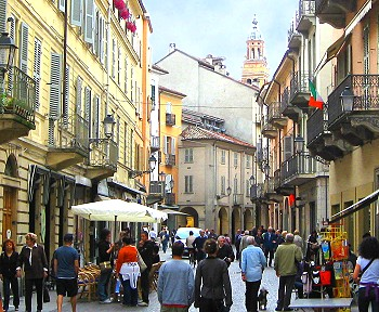 Market Day, Casale Monferrato, Italy