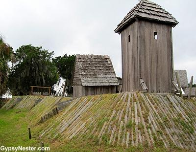 Fort King George in Darien, Georgia