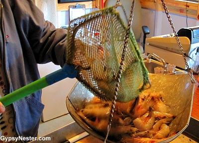 The Shrimp Shack in Eulonia, Georgia