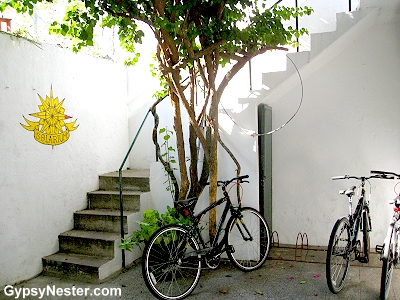El Viajero Hostel happened to have bikes for rent!