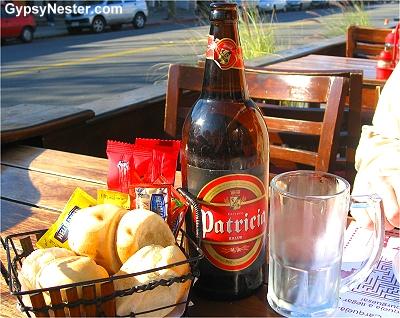 Patricia beer in Uruguay