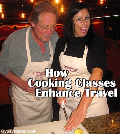 Now Cooking Classes Enhance Travel!