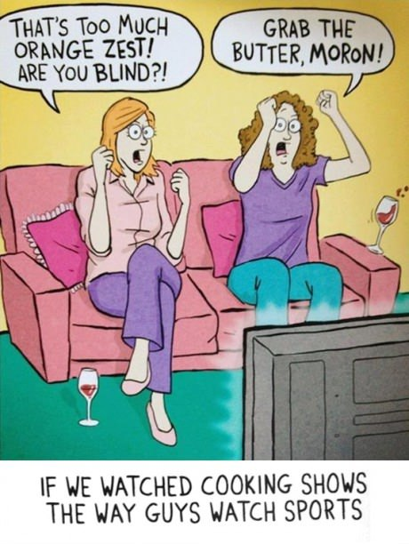 Saturday Funnies! Super Bowl Edition! What if...