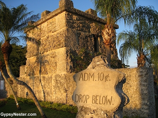 The Coral Castle in Florida USA