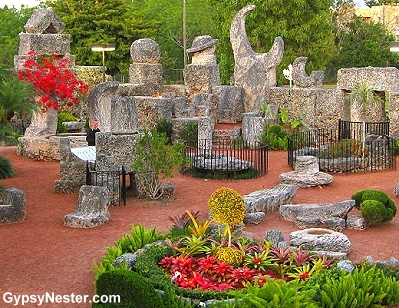 The Coral Castle in Florida