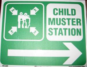 Child Muster Station