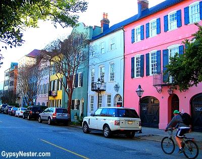 Rainbow Row, Charleston, South Carolina