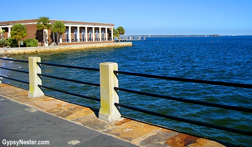 The promenade in Charleston, North Carolina