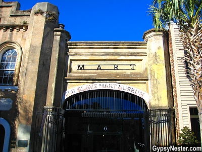 The Old Slave Mart and Museum in Charleston, South Carolina