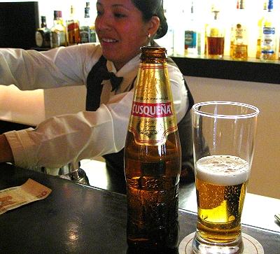 Cusquena, the beer of Cusco