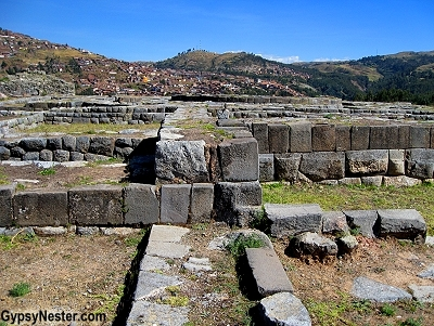 The Ruins of Sacsayhuaman in Peru