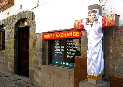 Cusco, Peru Money Exchange