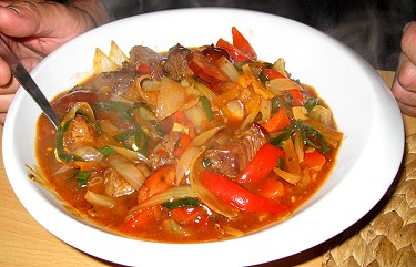 The Czech version of goulash, gulás