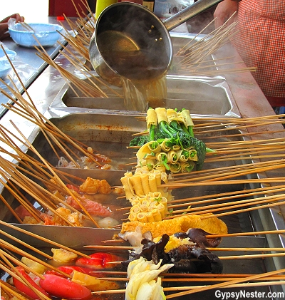 Amazingly delicious street food in China