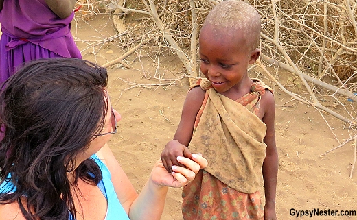 Meeting the Massai people in the Great Rift Valley in Tanzania, Africa with Discover Corps