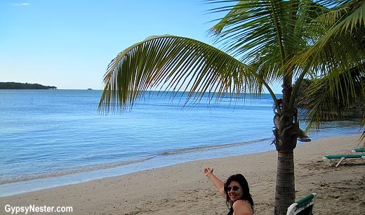 The beach at Amber Cove, Dominican Republic