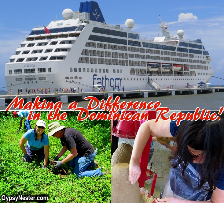 Volunteer on a cruise ship!