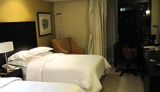 Sheraton Quito room