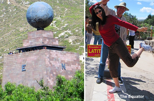 GypsyNesters at the Equator in Ecuador